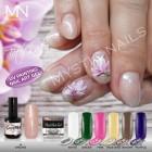 UV Painting Nail Art Gel - 02 - Black