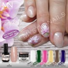 UV Painting Nail Art Gel - 04 - Silver