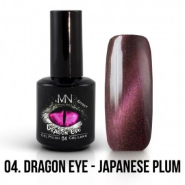Gel Polish Dragon Eye Effect 04 - Japanese Plum 12ml