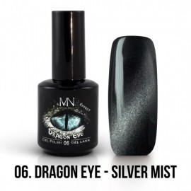 Gel Polish Dragon Eye Effect 06 - Silver Mist 12ml