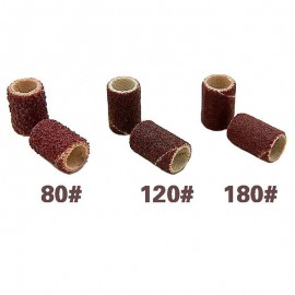 Sandpaper machine replacement bits 100 pieces 80 greed