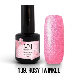 Gel Polish 139 - Rosy Twinkle 12ml