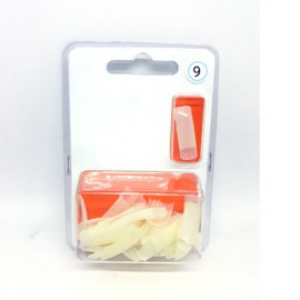 XN Natural Nail Tips Size 1 - 50pcs