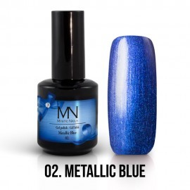 Gel Polish Metallic 02 - Metallic Blue 12 ml