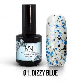 Gel Polish Dizzy no.01. - Dizzy Blue 8 ml