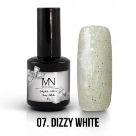 Gel Polish Dizzy no.07. - Dizzy White 8 ml