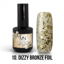 Gel PolishDizzy no.10. - Dizzy Bronze Foil 12 ml