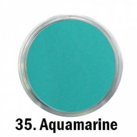 Acril Paint - no.35. - Aquamarine