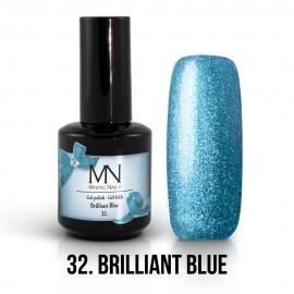 Gel Polish 32 - Brillant Blue 12 ml