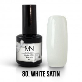 Gel Polish 80 - White Satin 12 ml