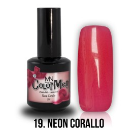 Gel Polish no.19. - Neon Corallo 12 ml