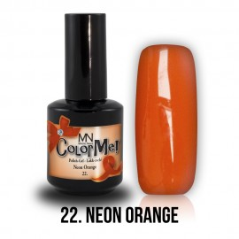 Gel Polish 22 - Neon Orange 8 ml