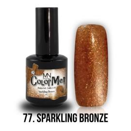 ColorMe! 77 - Sparkling Bronze 12ml Gel Polish