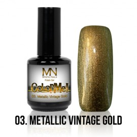 ColorMe! Metallic no.03. - Metallic Vintage Gold 8 ml