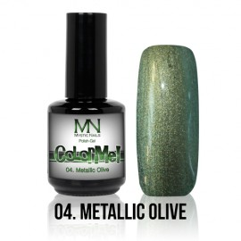 ColorMe! Metallic no.04. - Metallic Olive 12 ml