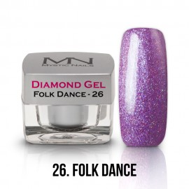 Diamond Gel - no.26. - Folk Dance - 4g