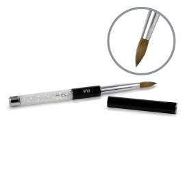 Kolinsky Black Glamour Sculpting Brush - #10