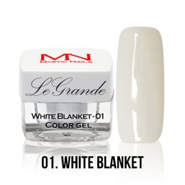 LeGrande Color Gel - no.01. - White Blanket - 4 g