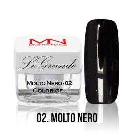 LeGrande Color Gel - no.02. - Molto Nero - 4 g