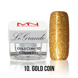 LeGrande Color Gel - no.10. - Gold Coin - 4 g