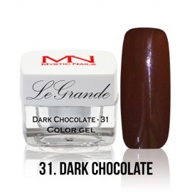LeGrande Color Gel - no.31. - Dark Chocolate - 4 g