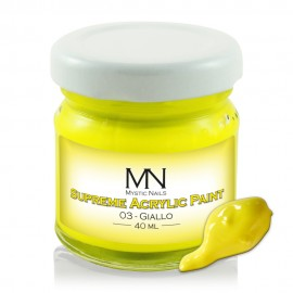 Supreme Acrylic Paint - no.03. Giallo - 40 ml