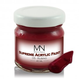 Supreme Acrylic Paint - no.05. Rubino - 40 ml