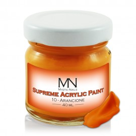 Supreme Acrylic Paint - no.10. Arancione - 40 ml