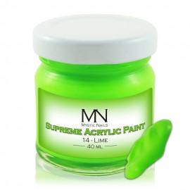 Supreme Acrylic Paint - 14 Lime - 40ml