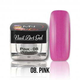 UV Painting Nail Art Gel - 08 - Pink