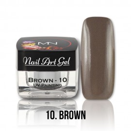 UV Painting Nail Art Gel - 10 - Brown