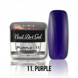 UV Painting Nail Art Gel - 11 - Purple