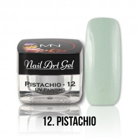 UV Painting Nail Art Gel - 12 - Pistachio