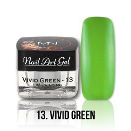 UV Painting Nail Art Gel – 13 - Vivid Green