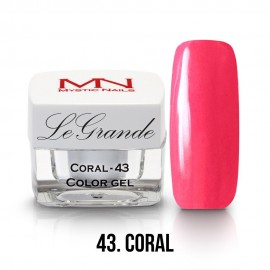 LeGrande Color Gel - no.43 - Coral - 4g