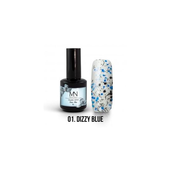 Gel Polish Dizzy no.01. - Dizzy Blue 8 ml