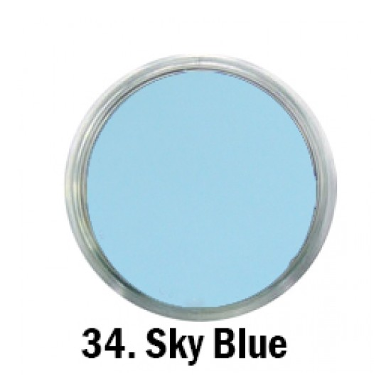 Acril Paint - no.34. - Sky Blue