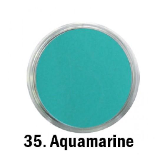 Acril Paint - no.35. - Aquamarine