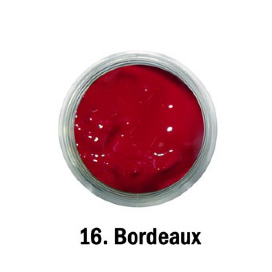 Acril Paint - no.16. - Bordeaux