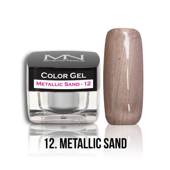 Color Gel - no.12. - Metallic Sand