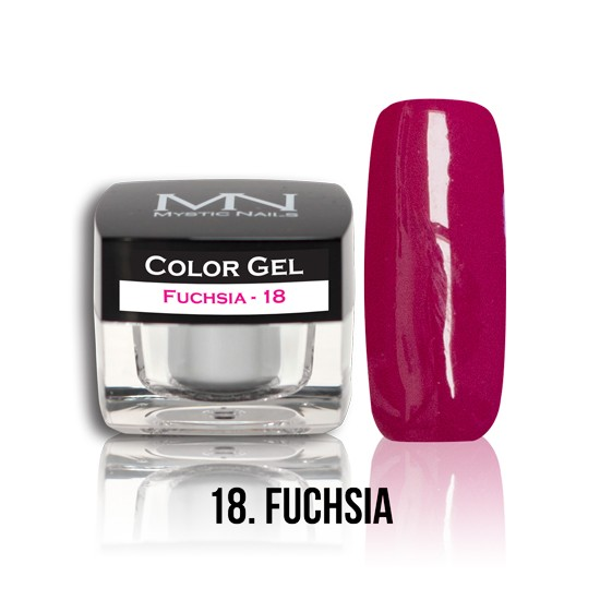 Color Gel - no.18. - Fuchsia