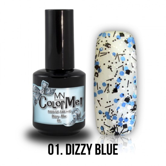 ColorMe! Dizzy no.01. - Dizzy Blue 8 ml