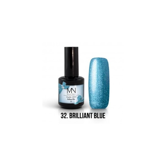 Gel Polish 32 - Brillant Blue 12 ml