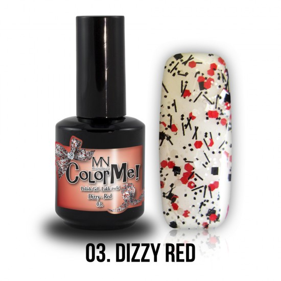 ColorMe! Dizzy no.03. - Dizzy Red 8 ml