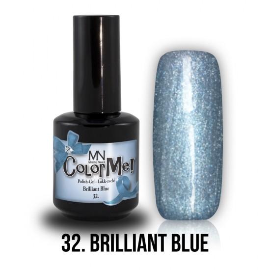 ColorMe! no.32. - Brillant Blue 8 ml