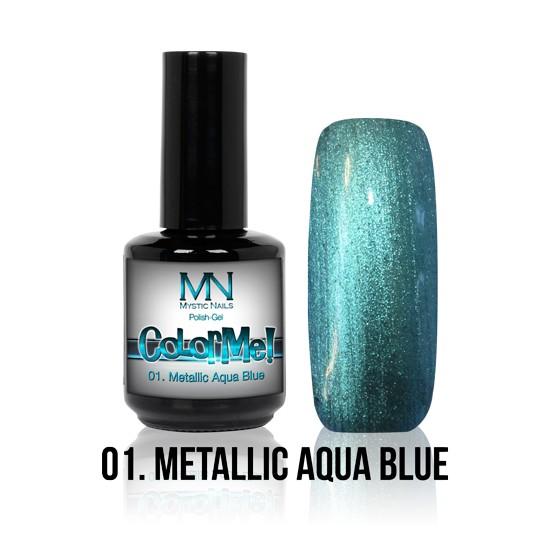 ColorMe! Metallic no.01. - Metallic Aqua Blue 12 ml