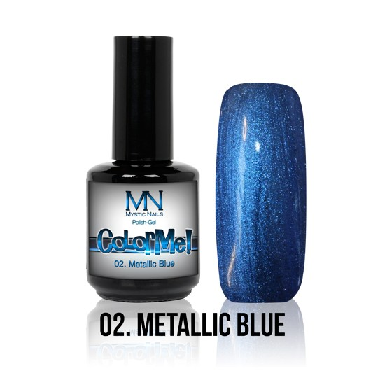 ColorMe! Metallic no.02. - Metallic Blue 8 ml