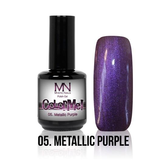 ColorMe! Metallic no.05. - Metallic Purple 8 ml