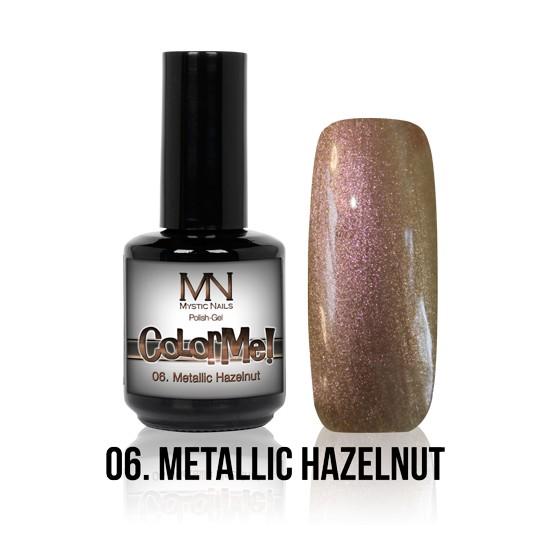 ColorMe! Metallic no.06. - Metallic Hazelnut 12 ml