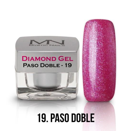 Diamond Gel - no.19. - Paso Doble - 4g